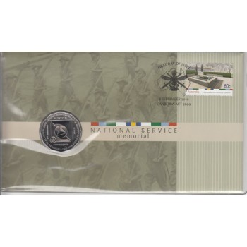 2011 Australian 60th Anniversary of the National Service  FDC