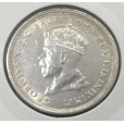 1927 AUSTRALIAN FIRST COMMEMORATIVE SILVER ONE FLORIN - PARLIAMENT HOUSE