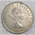 1954 AUSTRALIAN COMMEMORATIVE SILVER FLORIN - ROYAL VISIT