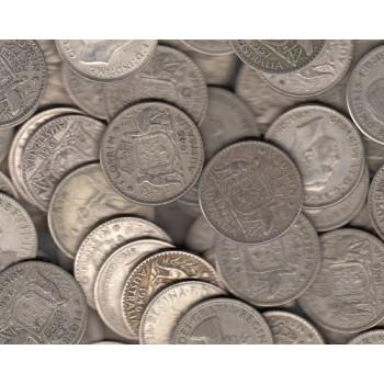 Australian 50% Silver Florin x 10 Coins