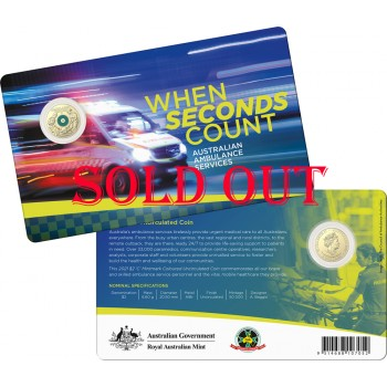 2021 $2 Ambulance Services C-Mint Mark Coin