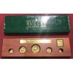 1989 Australian 5-Coin Gold Nugget Proof Set