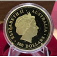 2000 Australia 2oz Gold Kangaroo Proof Coin