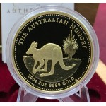2004 Australia 2oz Gold Kangaroo Proof Coin