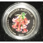 2008 Australian 1/10oz Platinum Proof Coin - Common Pink Heath