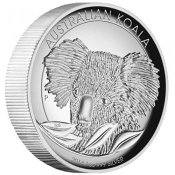 2014 Australian 1oz Silver High Relief Koala Coin