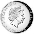 2014 Australian 1oz Silver High Relief Kookaburra Coin