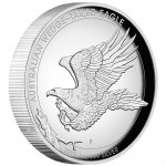 2015 Australian Wedge-tailed Eagle 1oz Silver Proof High Relief Coin