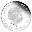 2015 Captain Jonathan Archer & Enterprise NX-01 1oz Silver Proof Two-Coin Set