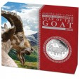 2015 Chinese Year of the Goat 1/2oz Silver Proof Coin