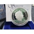 2009 Australian Antarctic Territory Series 1oz Silver South Magnetic Pole