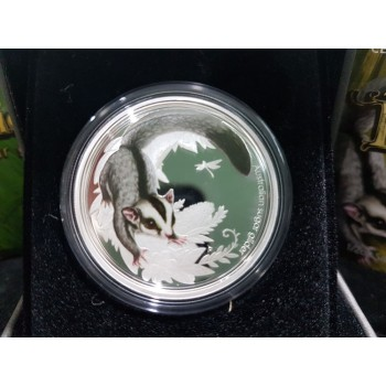 2010 Australian Bush Babies 1/2oz Silver Proof Coin Series - Sugar Glider