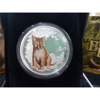 2011 Australian Bush Babies 1/oz Silver Coin Series - Dingo