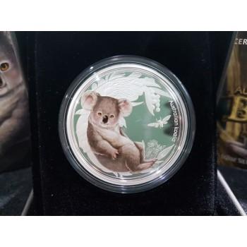 2011 Australian Bush Babies 1/2oz Silver Series - Koala