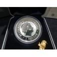 2005 Australian Gilded 1oz Silver Kookaburra Coin