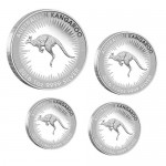 2016 Australian 4-Coin Silver Kangaroo Proof set