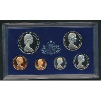 1980 Australian 6-Coin Proof Set