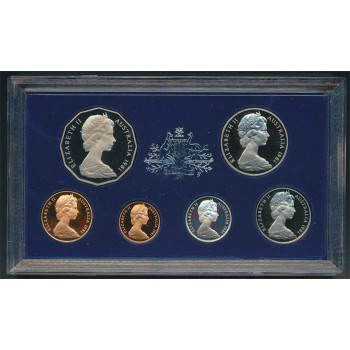 1981 Australian 6-Coin Proof Set