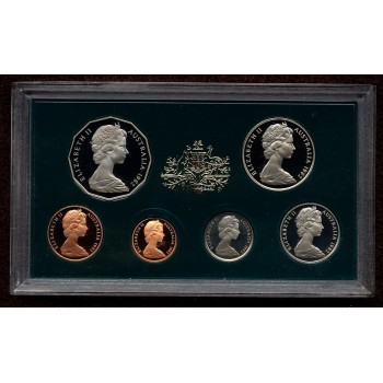1982 Australian 6-Coin Proof Set