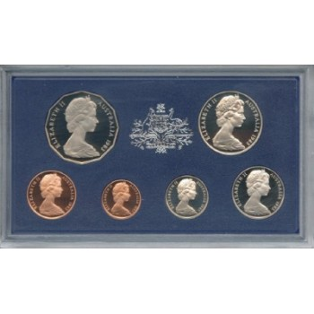 1983 Australian 6-Coin Proof Set