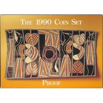 1990 Australian 8-Coin Proof Set