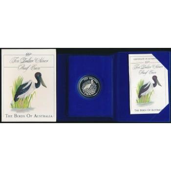 1991 Australian Silver Bird Series - Jabiru