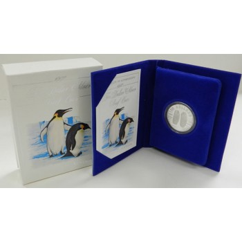 1992 Australian Silver Bird Series - Emperor Penguin