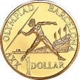 1984 -1992 Australian 5-coin Uncirculated Set