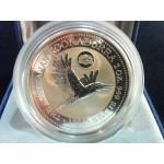 1996 Australian 2oz Silver Kookaburra Privy Mark Coin - Den Haag