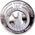 2000 Australian Proclamation 1oz Silver Proof Coin