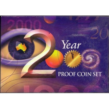 2000 AUSTRALIAN 6-COIN PROOF SET