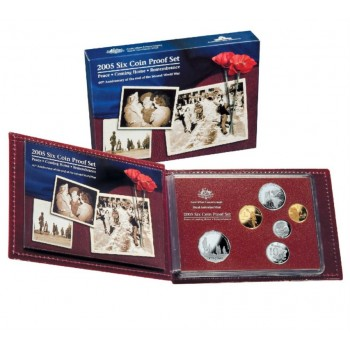 2005 AUSTRALIAN 6-COIN PROOF SET