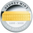 2005 Australian 150 years of the Sydney Mint Silver Proof Coin