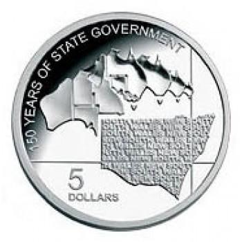 2006 Australian 1oz Silver Proof NSW Coin