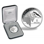 2007 Australian 1oz Silver Proof South Australia Coin