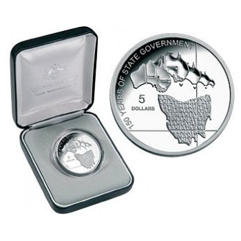 2006 Australian 1oz Silver Proof TASMANIA Coin