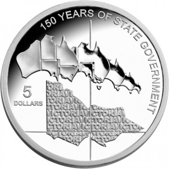 2006 Australian 1oz Silver Proof Victoria Coin