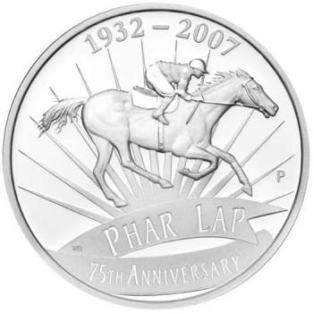2007 Australian Phar Lap 75th Anniversary Silver Proof Coin