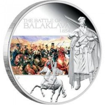 2009 Famous Battles in History 1oz Silver Proof Coin - Balaklava