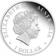 2010 Australia Saint Mary MacKillop 1oz Silver Proof Coin