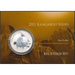 2011 Australian 1oz Silver Kangaroo Uncirculated Coin