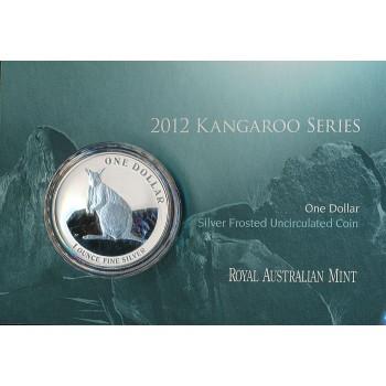 2012 Australian 1oz Silver Kangaroo Uncirculated Coin