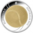 2012 100th Anniversary of the Australian Tennis Open Selective Gold Plated Silver Coin