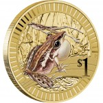 2012 Young Collectors Animal Athletes Coin - Rocket Frog