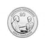 2013 20c Uncirculated Coin – Royal Australian Army Chaplains