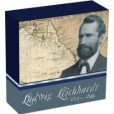 2013 Ludwig Leichhardt 2oz Silver Proof Coin