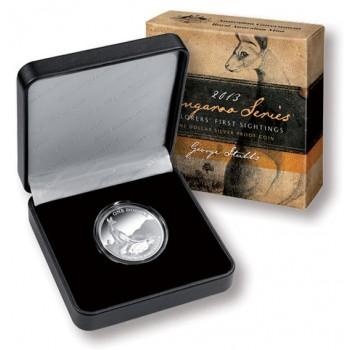 2013 Australian 1oz Silver Proof Kangaroo Coin