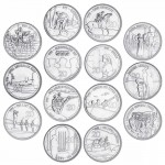 2015 ANZAC Remembered 14-Coin Collection 20c