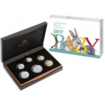 2017 Australian 6-Coin Baby Proof Set