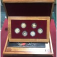 1989-1994 Pride of Australia 6-Coin Gold Proof Set